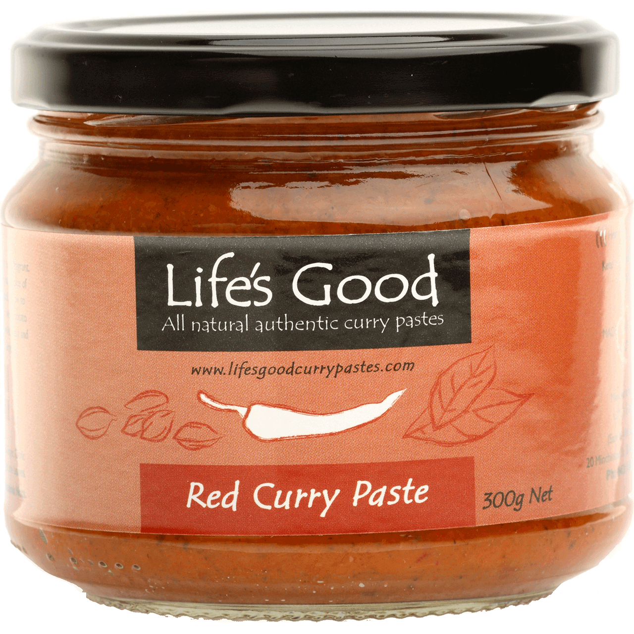 Life's Good Red Curry Paste