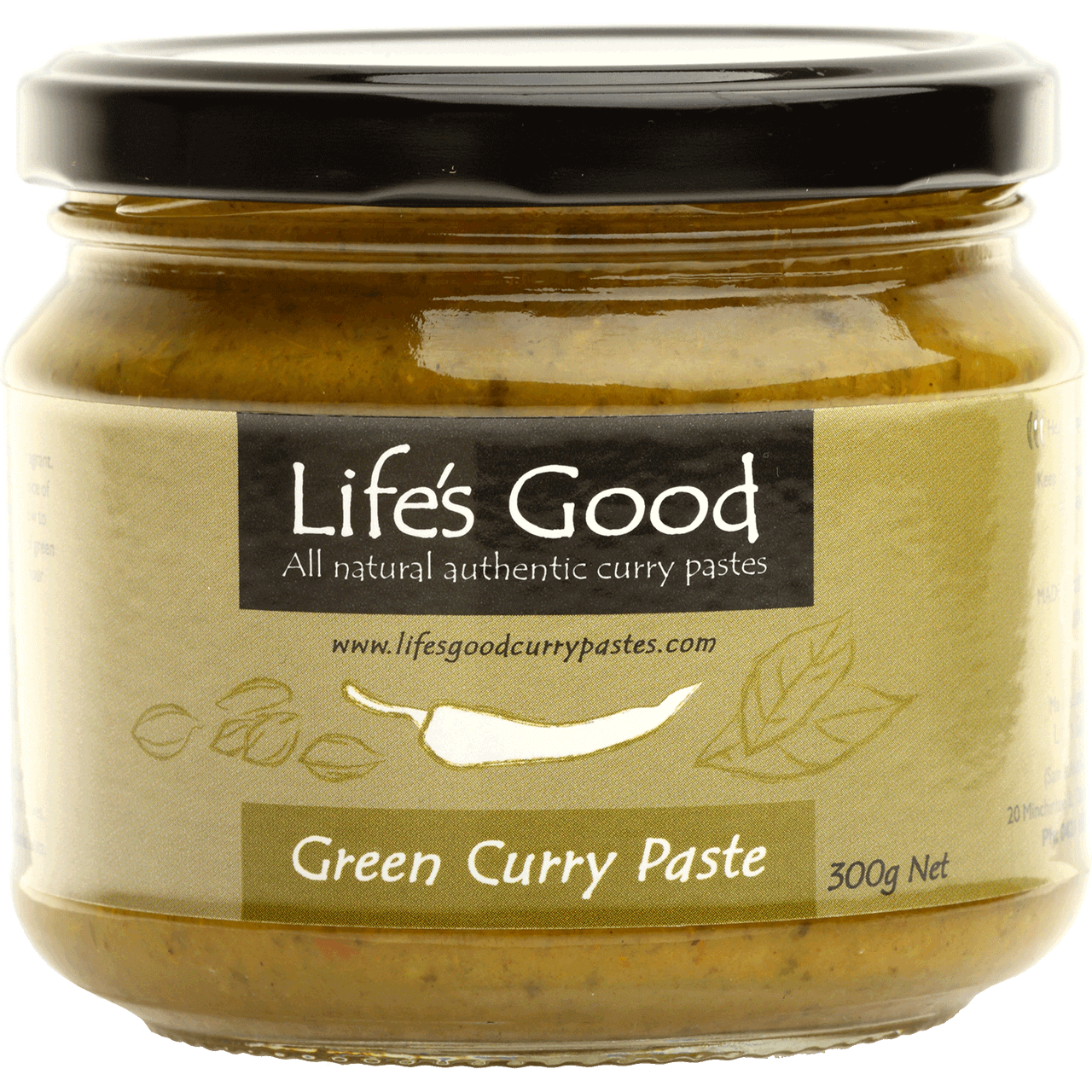 Life's Good Green Curry Paste